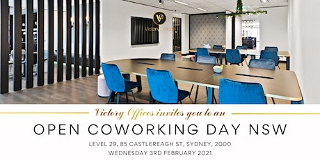 Victory Offices | Open Coworking Day | Sydney tickets