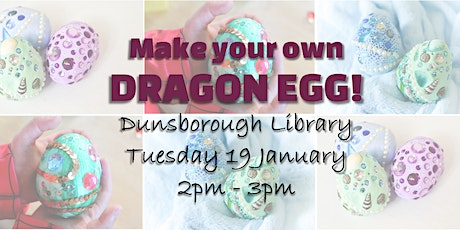 Dragon Egg making- Dunsborough tickets