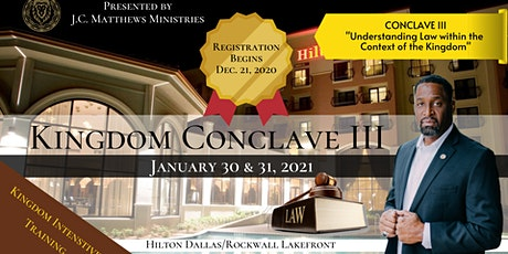 Kingdom Conclave III - Law tickets