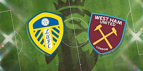 LIVE@!!..@Leeds United V West Ham LIVE ON 11 DEC 2020 tickets