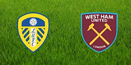 StrEams@!.Leeds United V West Ham LIVE ON 11 DEC 2020 tickets