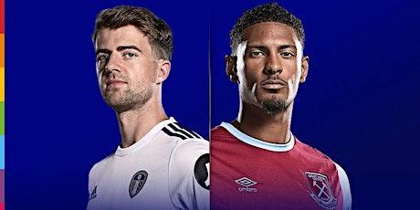 ONLINE@!.Leeds United V West Ham LIVE ON 11 DEC 2020 tickets