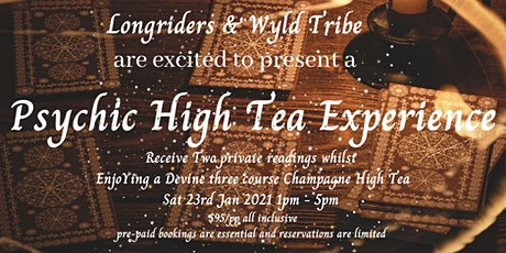 Psychic High Tea Experience tickets