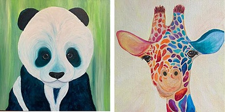 Colorful Animals - Acrylics with Jen Livia tickets