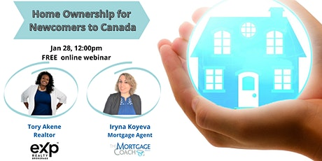Home Ownership for Newcomers to Canada tickets