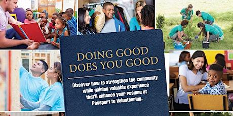 Courtney Passport to Volunteering tickets