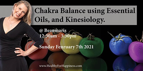 Chakra Balance With Essential Oils And Kinesiology. tickets