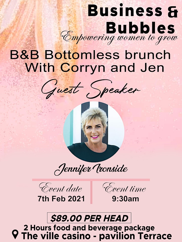 Business and Bubbles Bottomless Brunch image