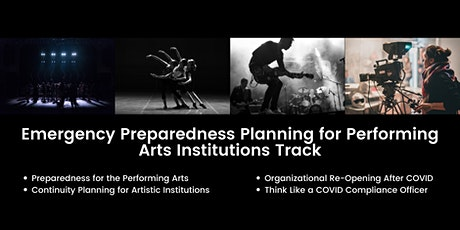 Emergency Preparedness Planning for Performing Arts Institutions Track tickets