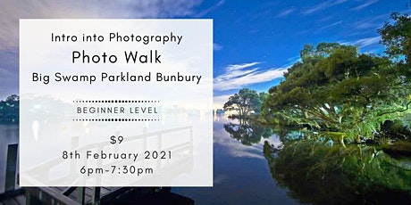 Bunbury - Intro to Photography - Photowalk around Big Swamp Reserve tickets