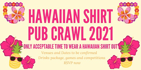 Hawaiian shirt pub crawl 2021 tickets