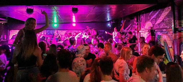 Hawaiian shirt pub crawl image
