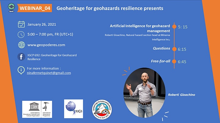 Webinar 04_Geoheritage for Geohazard Resilience image