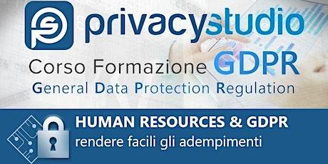 Human Resources & GDPR: rendere facili gli adempimenti biglietti