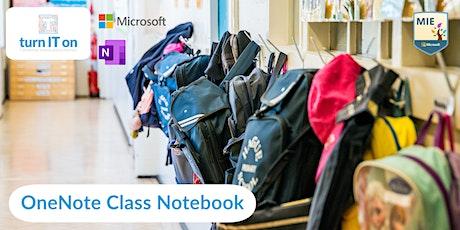 OneNote Class Notebook tickets
