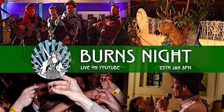 Burns Night: Online tickets