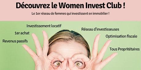 Saisissez l'opportunité de découvrir le réseau WOMEN INVEST CLUB billets