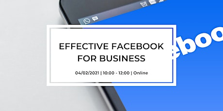 Effective Facebook for Business tickets