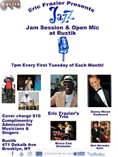 Jam Session & Open Mic at Rustik tickets