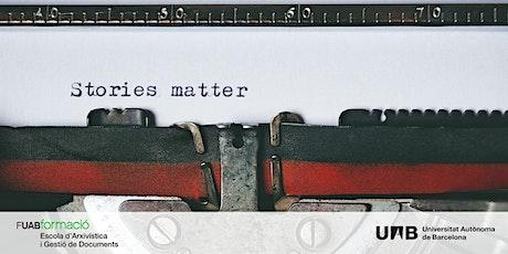"""Masterclass: """"Luz en los Archivos: el poder de la historias para comunicar"""" boletos"""