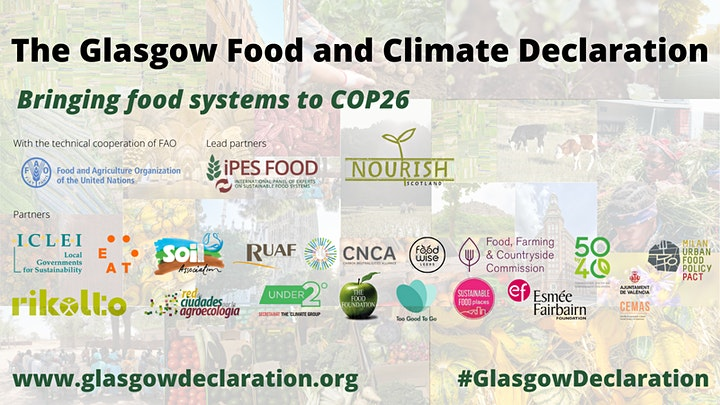 Road to the Glasgow Declaration: bringing food systems to  COP26 image