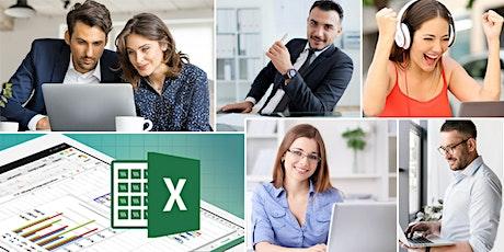 Curso online de Excel avanzado boletos