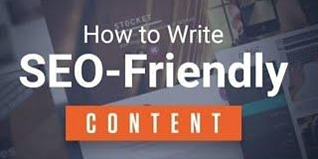 [Free Masterclass] How to Write SEO Friendly Google Content in Orange tickets