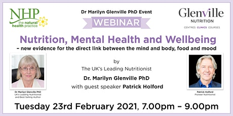 Nutrition, Mental Health and Wellbeing tickets