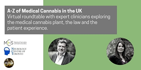 A-Z of Medical Cannabis in the UK tickets