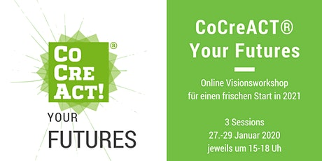 CoCreACT® your Futures - Online Workshop Tickets