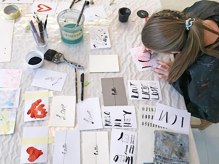 Online-Workshop | Handlettering I Für 8- bis 14-Jährige: Bild