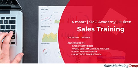 SMG Academy | Sales Training | 4 maart 2021 tickets