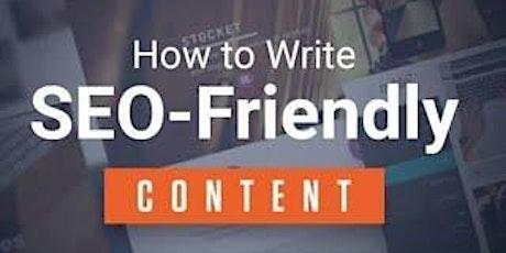 [Free Masterclass] How to Write SEO Friendly Google Content in San Antonio tickets