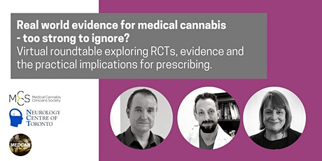 Real world evidence for medical cannabis - too strong to ignore? tickets