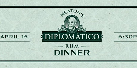 Diplomatico Cocktail Dinner at Heaton's Vero Beach! tickets