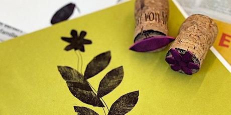 Online-Workshop | Familienzeit: Drucken und Malen I ab 4 Jahren Tickets
