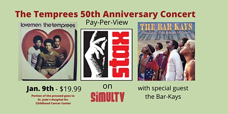 The Temprees 50th Anniversary Concert with the Bar-Kays tickets