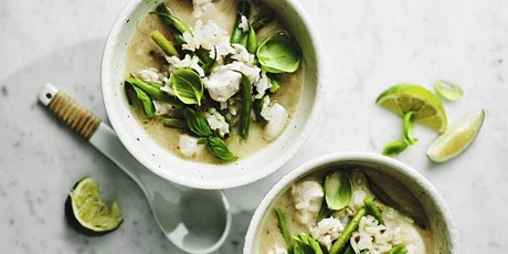 CURRY NIGHT: THAI GREEN CURRY COOKERY CLASS  - £20 tickets