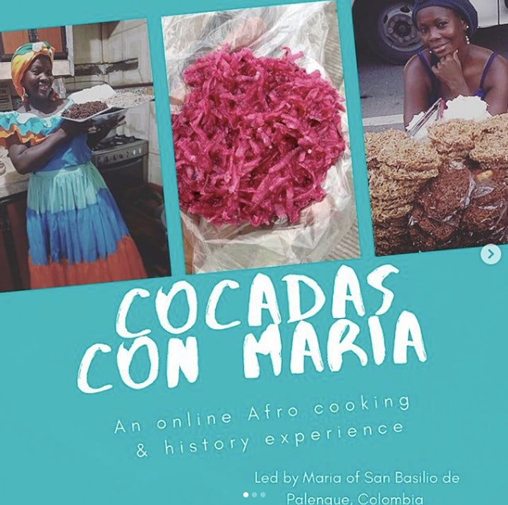 Cocada-Making Workshop with Palenquera Maria Miranda & AfroLatinx Travel image