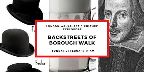 BACK STREETS OF BOROUGH - SMALL GROUP WALK WITH OFFICIAL LONDON GUIDE tickets