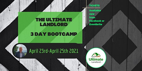 The Ultimate Landlord 3 Day Bootcamp tickets