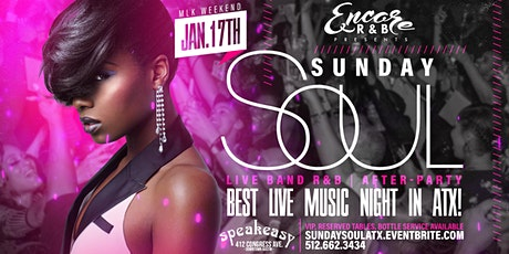 MLK Sunday Soul: Live Band R&B Experience 1/17 tickets