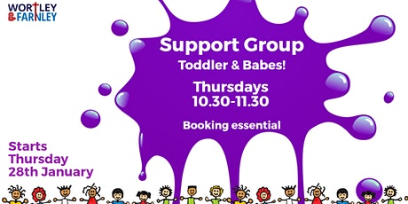 Wortley & Farnley Toddler & Babe Support Group tickets