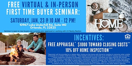 Home for the New Year!   Free Educational Buyer Seminar! tickets