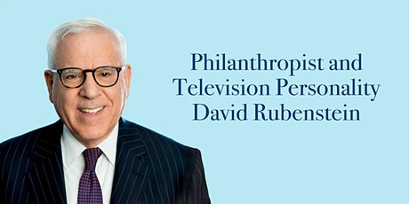Philanthropist and Television Personality David Rubenstein tickets