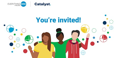 Everything DiSC on Catalyst Showcase Webinar tickets