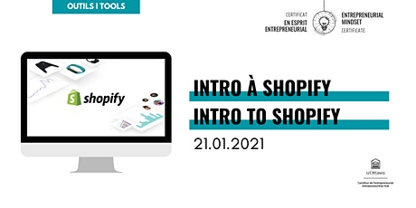 CEE: Intro à Shopify | EMC: Intro to Shopify tickets