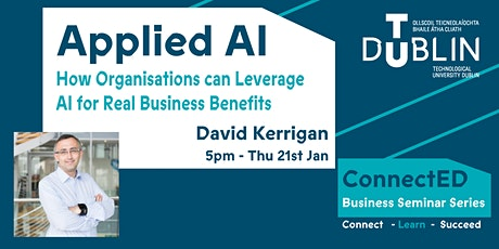Applied AI - How Organisations can Leverage AI for Real Business Benefits tickets