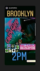Candy Shop Lounge #New tickets