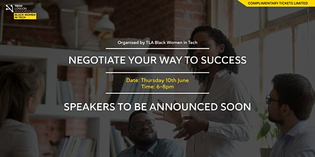 Negotiate your way to success tickets